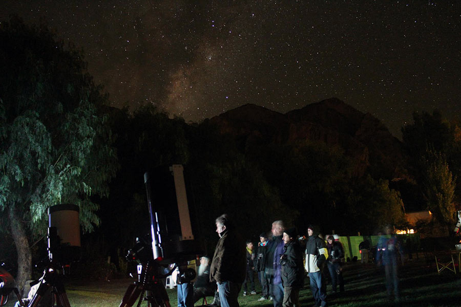 Star Party Valle Grande